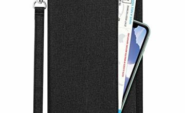 Newdora Travel Wallet Passport Holder Cover RFID-Blocking Travel Document Organizer Case for Passports,ID Card, Credit Cards, Flight Tickets, Money and Other Travel Accessories