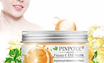 Under Eye Mask, Collagen Eye Pads, Eye Patches, Anti Aging Under Eye Treatment Mask, Vitamin C Eye Mask, for Puffy Eyes Bags, Dark Circles and Wrinkles,with Collagen, Hyaluronic Acid, 50pcs