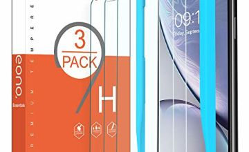 Eono by Amazon - [3 Pack] Screen Protectors for iPhone 11 2019/iPhone XR, Premium Tempered Glass with 9H-Hardness, Crystal Clarity, Bubble Free, Alignment Frame, 6.1 Inches