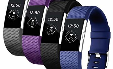 Vitty for Fitbit Charge 2 Strap for Women and Men, Charge 2 Bands Adjustable Replacement Silicone Sport Wristband for Fitbit Charge 2