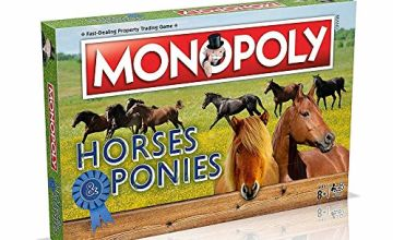 Winning Moves Horses and Ponies Monopoly Board Game