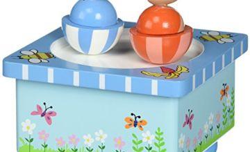 Peter Rabbit Orange Tree Toys Wooden Music Box,