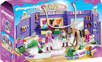 PLAYMOBIL City Life 9401 Horse Tack Shop, For children ages 5+