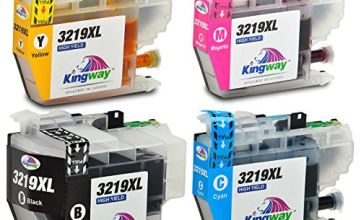 Kingway Replacement for Brother LC3219XL Ink Cartridges Compatible with Brother MFC-J5330DW MFC-J5335DW MFC-J5730DW MFC-J5930DW MFC-J6530DW MFC-J6930DW MFC-J6935DW