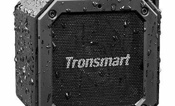 Waterproof Bluetooth Speaker, Tronsmart Groove(Force Mini) Wireless Outdoor Mini 10W Bluetooth Speakers, Bluetooth 4.2, IPX7 Waterproof, 24 Hours Playtime, built in mic and 360° TWS Stereo Sound