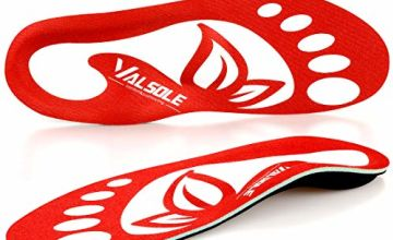 VALSOLE Orthotic Insole High Arch Foot Support Soft Medical Functional insoles, Insert for Severe Flat Feet,Plantar Fasciitis,Feet Pain, Foot Valgus For Man And Woman