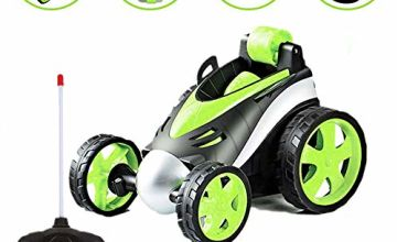 ALLCELE Car Toy for Boys 10+ ages, Remote Control Car, 360 Degree Rolling Rotating Rotation,Birthday Gift for Kids, Boys & Girls