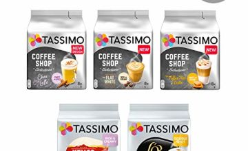 20% off Coffee Bundles by Tassimo and others