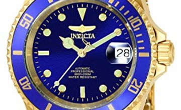 Invicta 8930OB Pro Diver Unisex Wrist Watch Stainless Steel Automatic Blue Dial