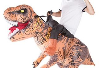 Bodysocks® Inflatable Deluxe Dinosaur Riding Costume (Adult)