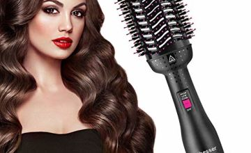 Aibesser Hair Dryer, Hot Air Brush for Hair Styling, Multifunctional 5-in-1 Salon Negative Ion Hair Straightener & Curly Hair Comb, Hot Air Styler Reduce Frizz and Static for All Hair Types