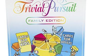 Games E1921102 Trivial Pursuit Family Edition Game, Multi-Colour