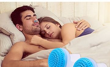 Snore Stopper Nose Vents, Anti-Snore Devices 2-in-1 Anti Sno