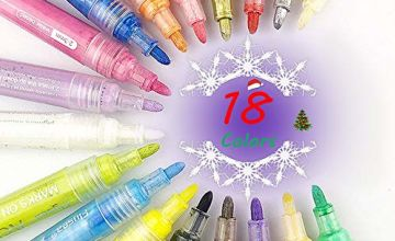 Marker Pens Set of 12, Set of 18,