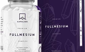 Magnesium Complex [ 1561 mg ] - Chelated Magnesium Supplement - 400mg Elemental Magnesium Per Serving - Contains Magnesium Malate, Citrate, Oxide and Taurate - 180 Vegan Capsule Supply