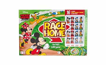Save on Disney Mickey & Friends Race Home Board Game for Kids Age 4 Years Old +, Multi and more