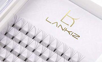 LANKIZ 5D Russian Lashes Volume Fans 0.07mm C Curl 15mm Indi