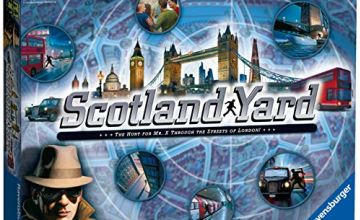 Ravensburger UK 26646 Ravensburger Scotland Yard Family Strategy Board Game for Kids & Adults Age 8 & Up-The Hunt for Mr X