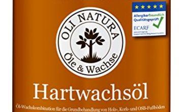 Oli Natura Hard Wax Oil - 1 L, Colour: Clear satin