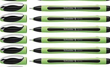 Schneider XPRESS 190001 Fineliner Pen Black Pack of 10