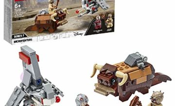 LEGO 75265 Star Wars T-16 Skyhopper vs Bantha Microfighters Playset, A New Hope Movie Collection