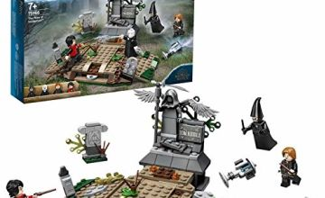 LEGO 75965 Harry Potter and The Goblet of Fire The Rise of Voldemort Collectible Building Set for Wizarding World Fans
