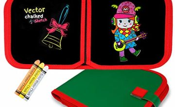 toy4kidUK for Girls 2-6 Years Old,Dust Free Doodle Painting