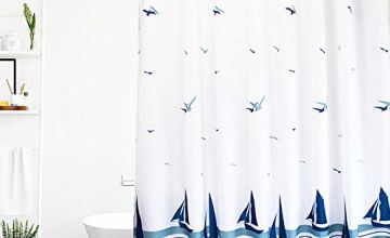 ORSJA Shower Curtain with Hooks