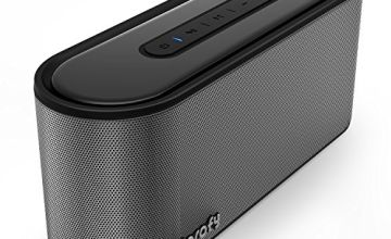 Bluetooth Speaker,20W Portable Stereo Speaker - 24 Hours Playtime with Super Bass,Support SD Card,33ft Bluetooth Range,Built in Microphone,Bluetooth 4.2 Wireless Speaker for iPhone,Samsung