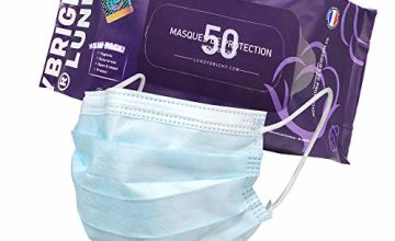 LundyBright Disposable Face Masks Prime Face Mask 3 Layers Delivery in UK for Protection