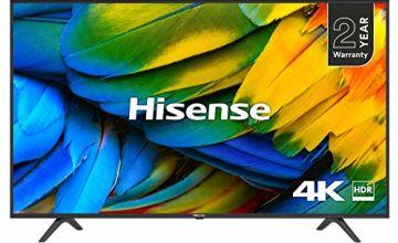 33% off Hisense 4K TVs