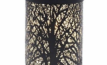 EQUSUPRO Metal Wax Melt Warmer Electric Candle Burner Melter Fragrance Warmer for Home Office Bedroom Living Room Decor Gifts