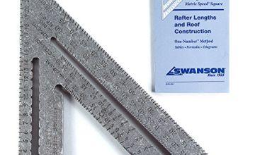 Swanson Tool EU202 Carpentry 25 cm Metric Speed Square W/Bl