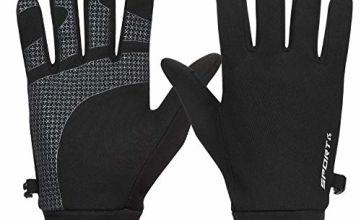 Yobenki Winter Gloves Thermal Gloves Outdoor Running Gloves Anti-slip Warm Gloves Lightweight Touchscreen Gloves for Men Women Cycling Riding Driving Climbing Walking Sports
