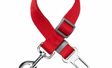 UMI. Essential Classic Solid Color Dog Seat Belt Tether