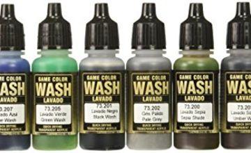 Vallejo AV Washes Set - 8 x 17ml