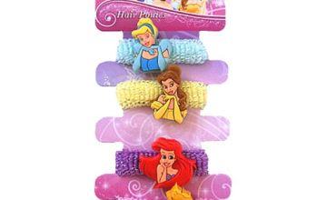"""Joy Toy """"Disney Princesses""""4 Motives Hair Bands (Multi-Colour)"""