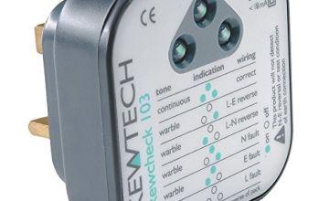 Kewtech KEWCHECK103 Mains Wiring Socket Tester