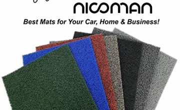 Save on Nicoman Door Mat|Easy-Clean & Dirt-Trapper Barrier Doormat|Non-Shedding & Jet-Washable Outdoor Spaghetti Doormats|A Practical Alternative To Coir Door Mats (60x40cm,Blue) and more