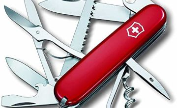 Victorinox Huntsman Swiss Army Knife Red Blister