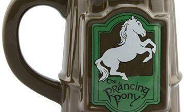GB eye Lord of The Rings Prancing Pony Mug, Ceramic, Various, 13 x 11 x 11.5 cm