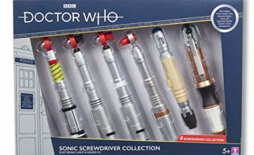 Doctor Who Screwdriver Collectors Set