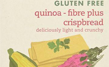 Amisa Organic Gluten Free Quinoa Fibre Plus Crisp Bread 100g