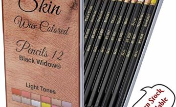 Light Skin Tone Pencils, Perfect Coloured Pencils Set For Adults and Drawing Pencil For Artists, Ideal Portrait Set Colouring