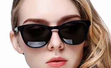 KANASTAL Round Vintage Polarised Sunglasses Women Men, Class