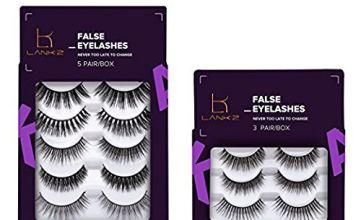 False Eyelashes Multipack 3D False Lashes Natural Look Handm