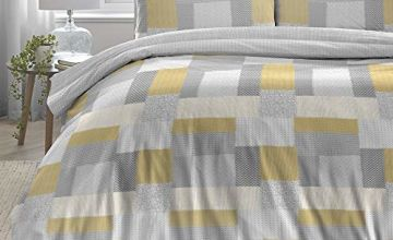 Save on Dreams & Drapes Boheme-100% Brushed Cotton, Ochre Yellow, Duvet Cover Set: Single and more