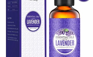 Homasy Lavender Essential Oil 50ml, 100% Pure Natural Essential Oils, Undiluted & Organic Aromatherapy Essential Oil, Scented Oils for Diffuser, Humidifier, Relax, Massage Blend, Perfect Gifts