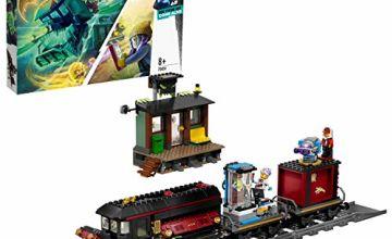LEGO 70424 Hidden Side Train Express Chasse Aux Fantômes Réalité Augmentée Pour iPhone Android Garçon Fille 8 Ans et Plus Toy, AR Games App, Interactive Augmented Reality Ghost Playset