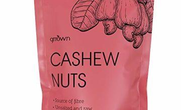 Cashew Nuts 1kg - 100% Raw Whole Cashews 1 kg Bag - Extra Large Premium Quality Nut - Source of Protein & Fibre - Gluten Free, Non-GMO & Vegan…